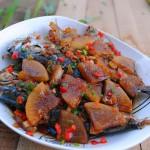 萝卜刀鲳鱼