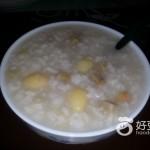白果板栗粥