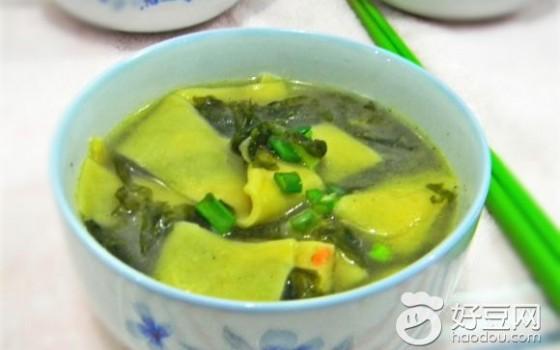 胡萝卜面片汤
