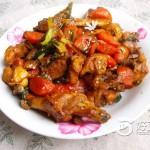 胡萝卜炒鸡
