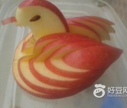 苹果小天鹅(水果拼盘)