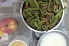 干焖四季豆