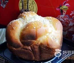 豆沙馅面包