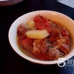 土豆牛肉炖柿子