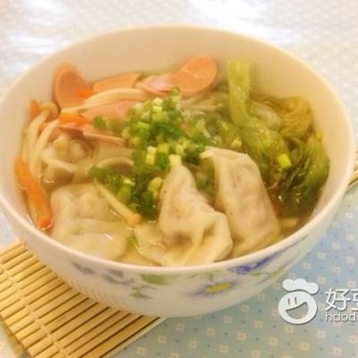 饺子蔬菜煲