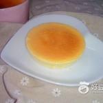 橙香轻乳酪蛋糕
