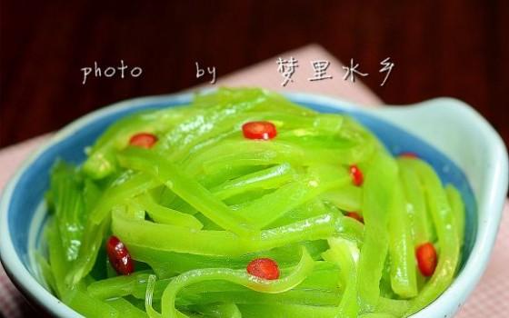 生拌莴苣丝