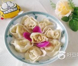 白菜猪肉元宝饺子