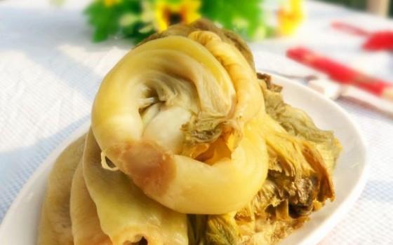酸菜的制作方法