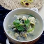 海蛎紫菜蛋汤