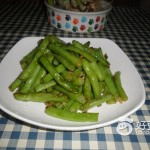 蒜泥四季豆