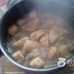 白菜油豆腐粉絲煲