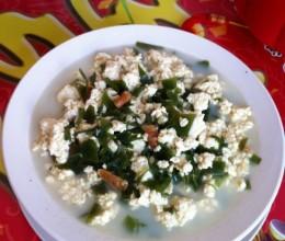 小豆腐海带汤