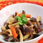 白玉菇烩海参