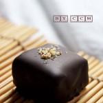 情人节手工黑巧克力糖