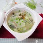 冬瓜海带肉片汤