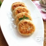 韭菜虾皮鸡蛋馅饼