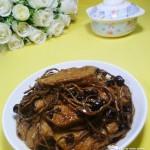 茶树菇烧素鸡
