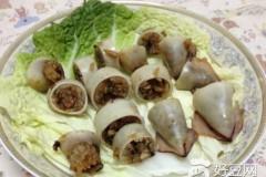 五香鱿鱼糯米卷