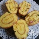 香葱培根蛋糕卷