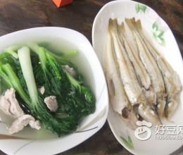 沙丁鱼煮青菜汤