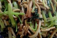 西芹豆腐干
