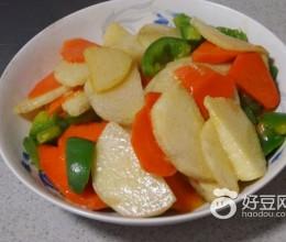 山药胡萝卜片