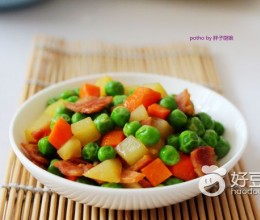 清炒青豌豆