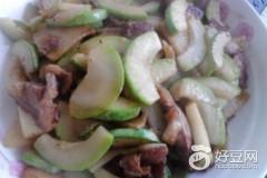 里脊肉炒角瓜