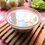 熟黑豆豆浆