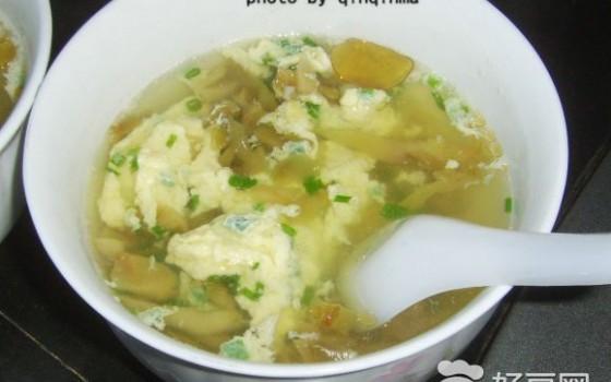 榨菜鸡蛋汤