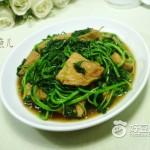 白米苋炒素鸡