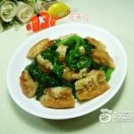 木耳菜炒油条