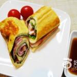 油豆腐紫苏卷