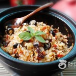 香菇橄榄焗饭