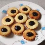 蓝莓果酱夹心饼干