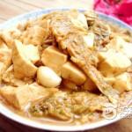 小黄花鱼炖豆腐