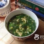 野菜蛋花汤