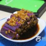 酱油蒸紫皮茄子