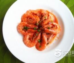 茄汁美极白虾