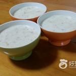 桃胶杂米牛奶粥
