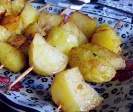 酱香孜然烤土豆