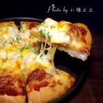 脆底鲜虾披萨