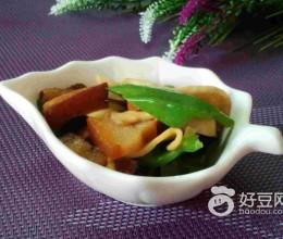 青椒杏鲍菇炒肉