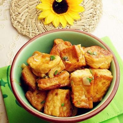 辣味蒜香豆腐