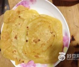 金黄玉米小煎饼