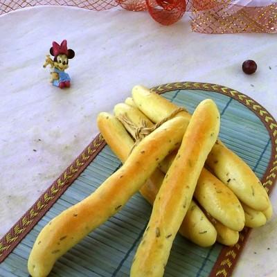迷迭香面包棒