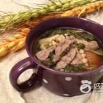 川贝猪肺菜干汤