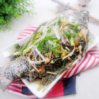 油泼福寿鱼