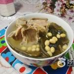 海带黄豆龙骨汤